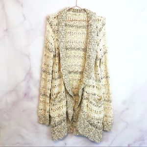 Anthropologie Knited & Knotted Cardigan